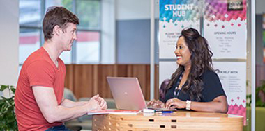 student hub can offer support
