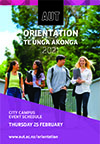 Cover page of Thur 25 Feb North Campus Orientation programme