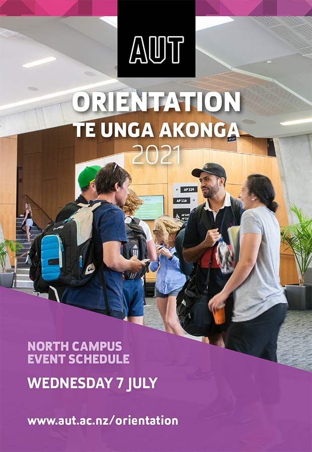Cover page of Wednesday Orientation programme
