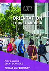 Cover page of Thur 25 Feb South Campus Orientation programme